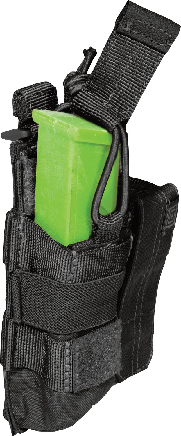 5.11 Tactical Double Pistol Bungee/Cover, Black (56155-019)