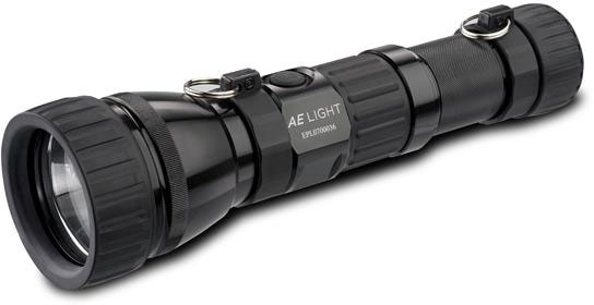 AE Light AEX20 Xenide 20W HID Handheld Searchlight