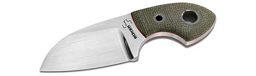 BokerPlus VOX Gnome Neck Knife with Micarta handle