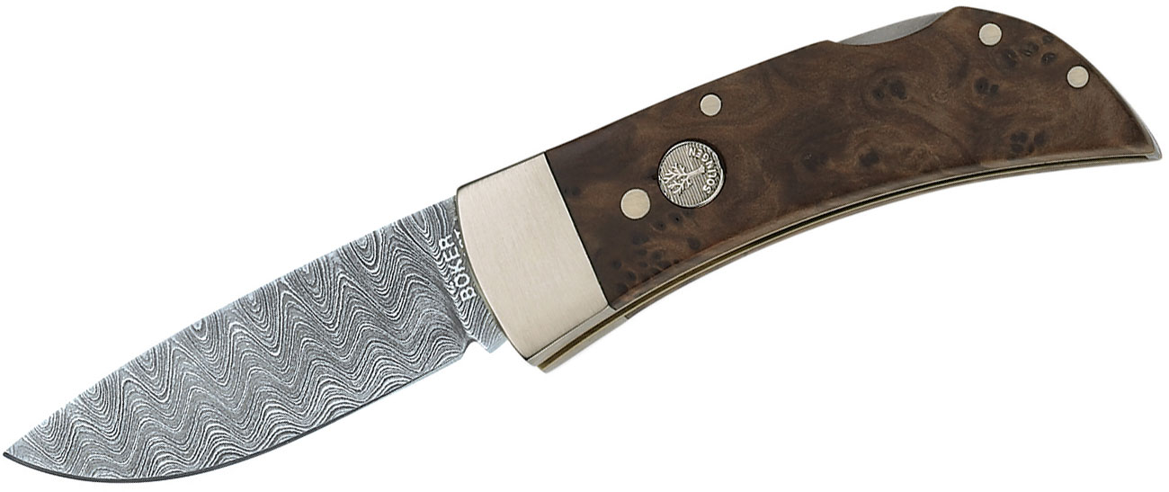Buy Boker Damascus Blade Knives at KnifeCenter