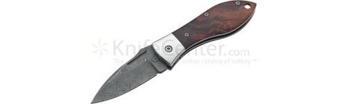 Boker 2011 Annual Damascus Collectors Folding Knife