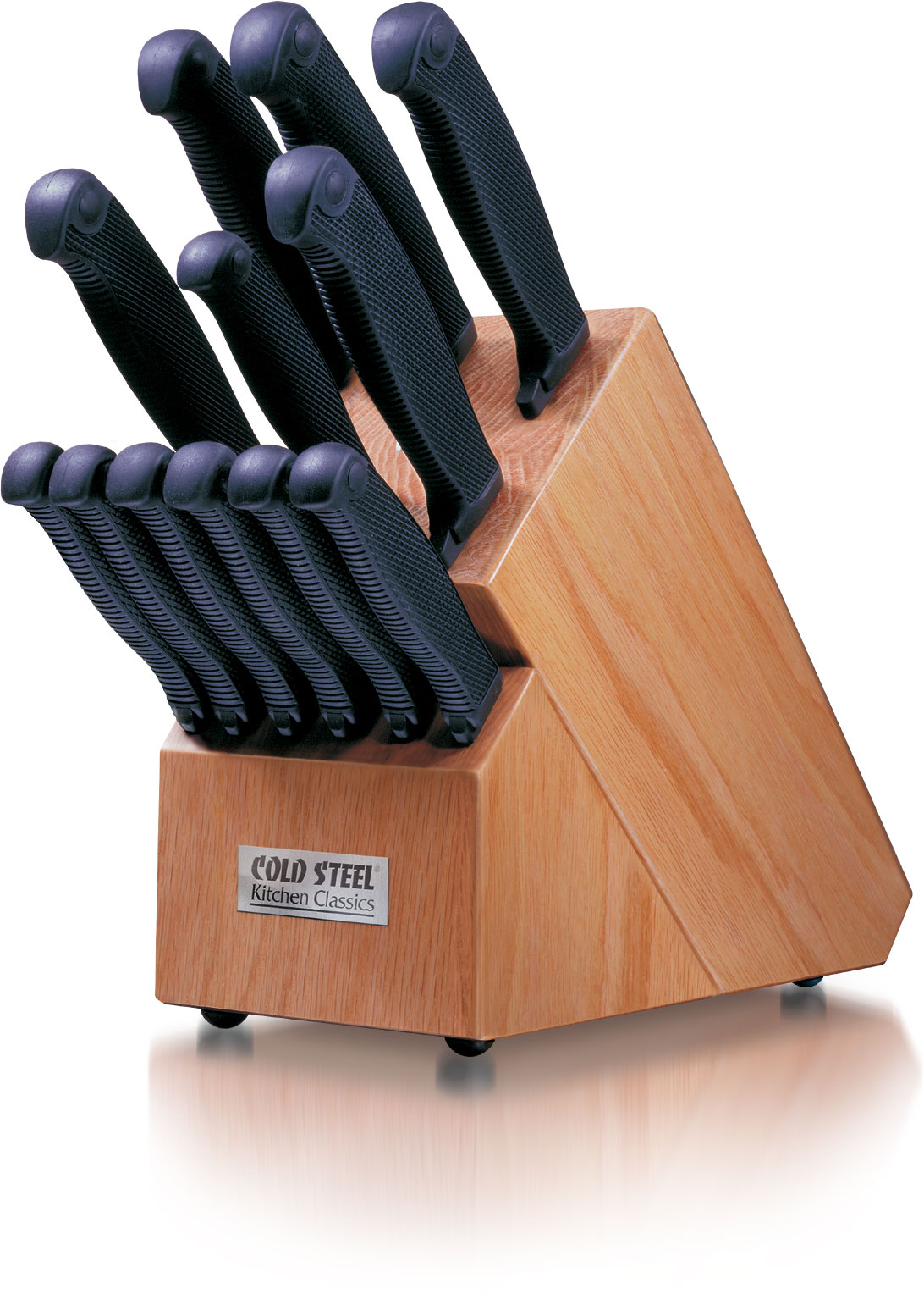 Cold Steel Kitchen Classics  Piece Full Knife Set