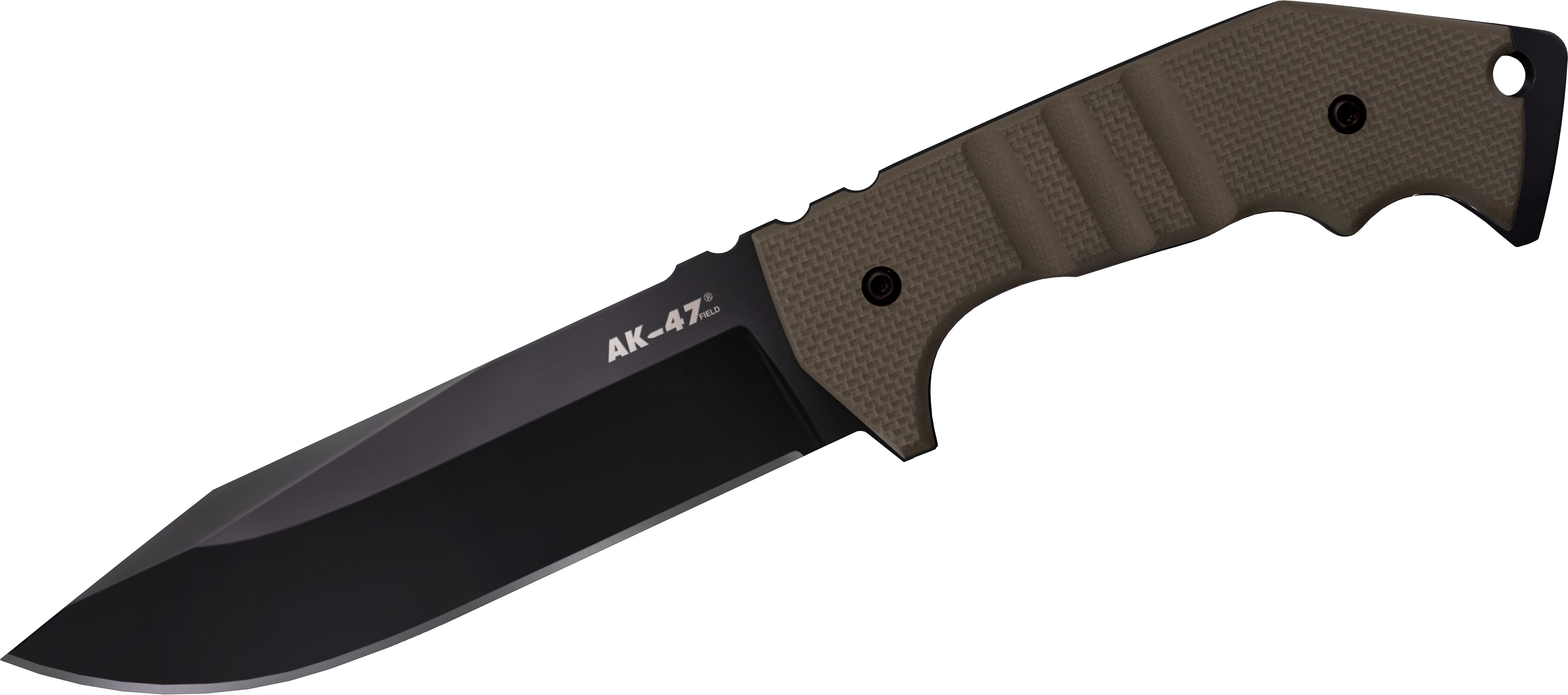 Cold Steel 14AKVG AK 47 Field Knife Fixed 52 CPM 3V Blade OD Green