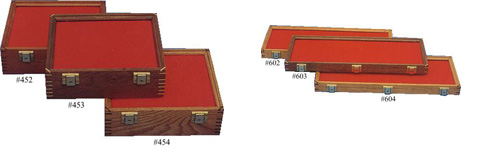 Wooden Display Cases Made in the USA