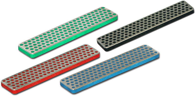 DMT 4 x 4 inch Diamond Whetstone Value Pack Includes A4X, A4C, A4F, AFE