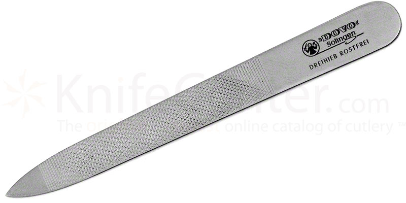 DOVO 405 356 Stainless Steel Nail File 3-1/2\