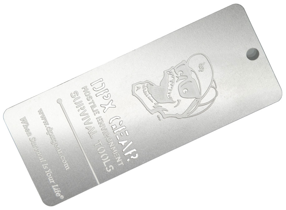DPx Gear Danger Tag with Breakaway Blade