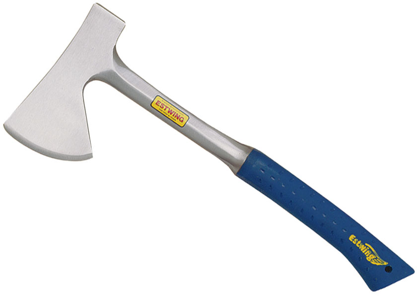 Estwing Camper's Axe 17.625 inch Overall, Blue Nylon Sheath