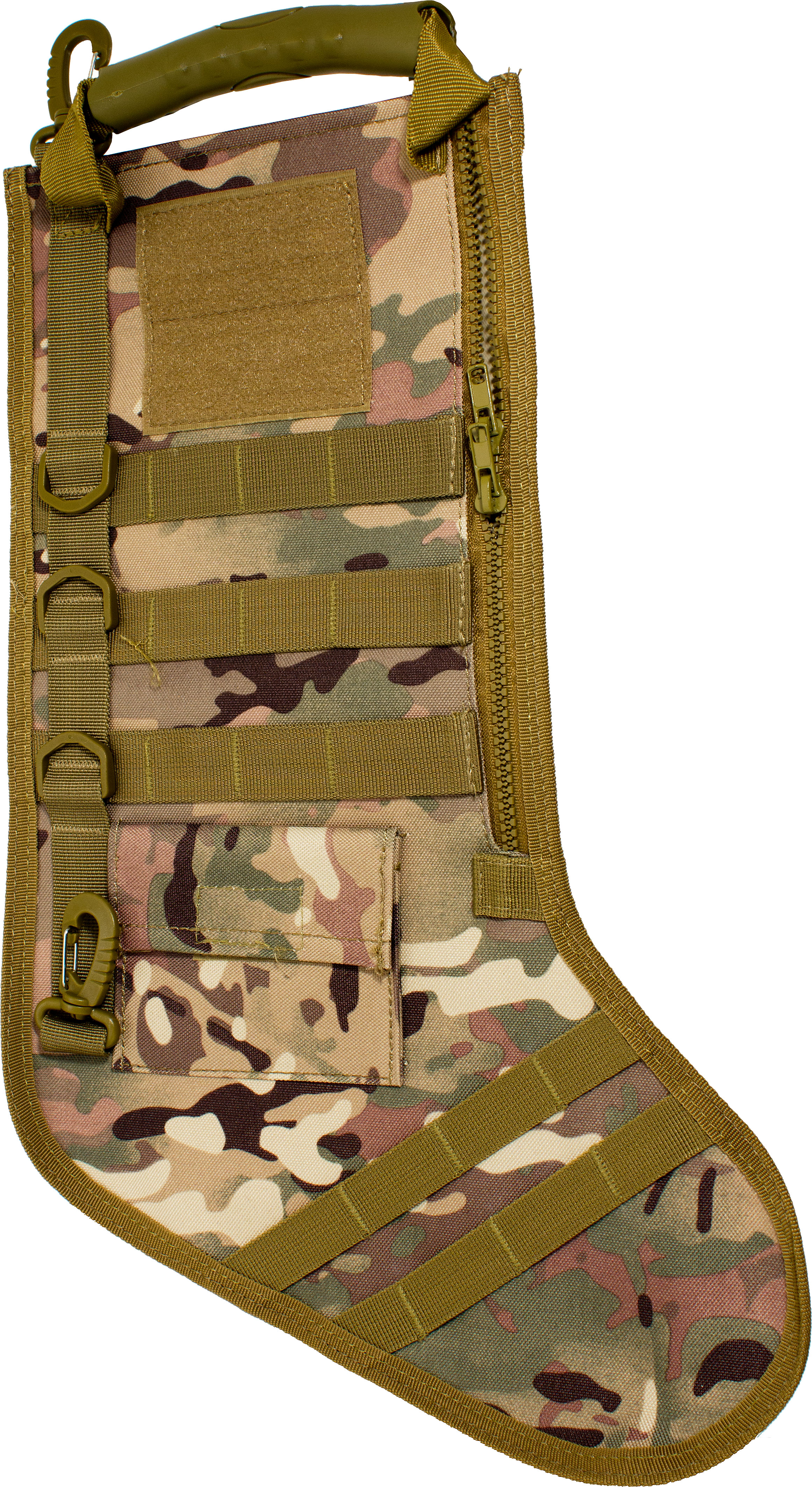 GenPro RuckUp Multicam Tactical Christmas Stocking with MOLLE ...