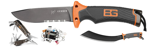 Bear Grylls products from Gerber Knives