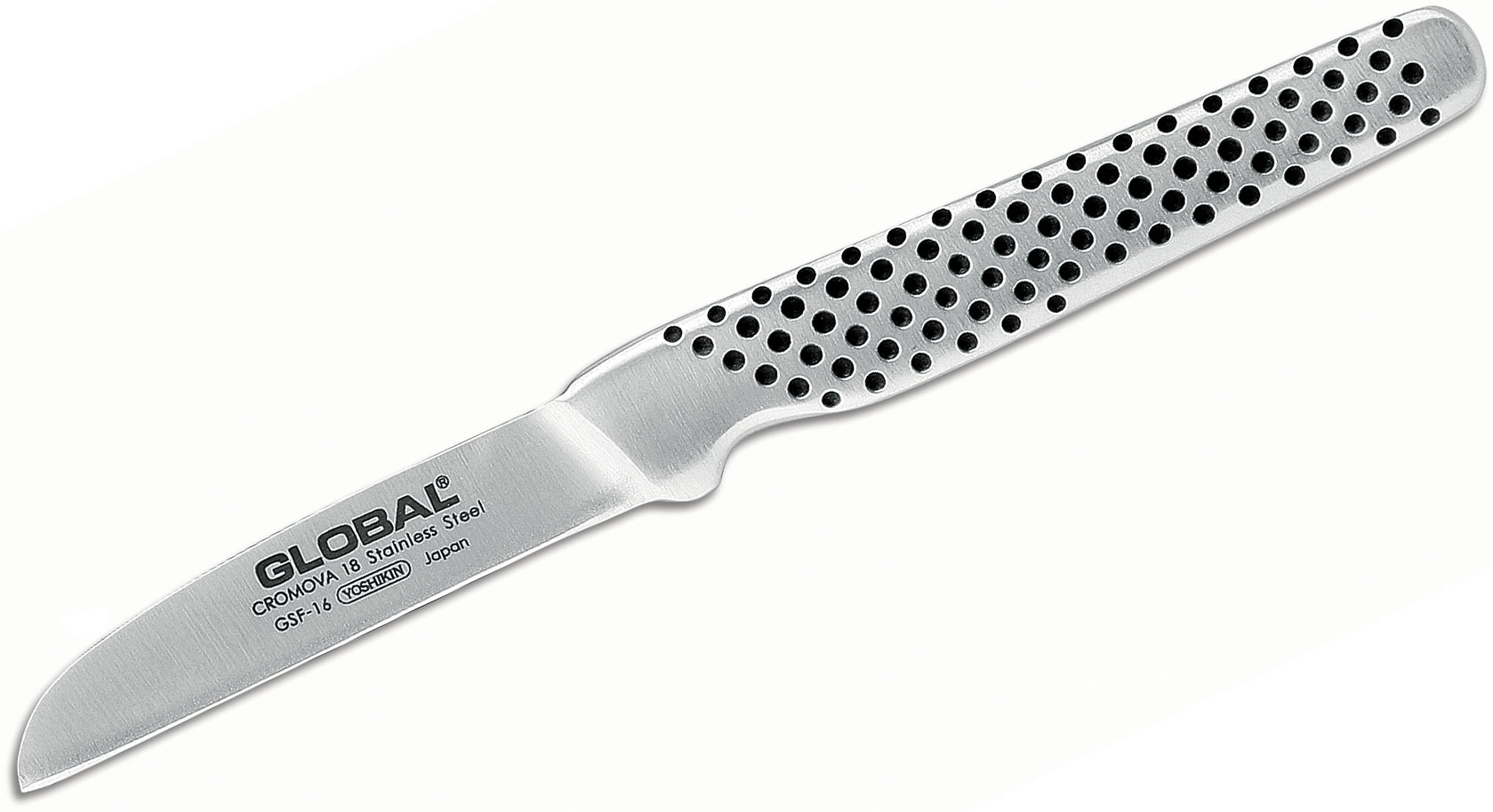 "Global GSF-16 Kitchen 2.5"" Peeling, Straight Knife"