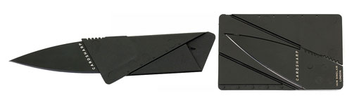 A New Shipment of the CardSharp Credit Card Pocket Knife from Iain Sinclair