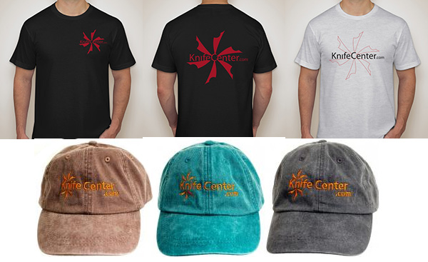 Knife Center Clothing Hats and Shirts