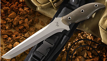 mercworx tanto chili pepper handle s30v 7 5 double edged blade