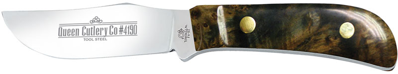 Buy Queen Genuine Wood Handle Fixed Blades at KnifeCenter