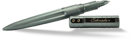 Schrade (Gray) Aluminum Tactical Pen
