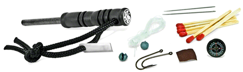 Smith & Wesson Fire Starter with Survival Kit