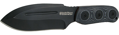 Smith and Wesson Extreme Ops Fixed Blade Tactical Knife