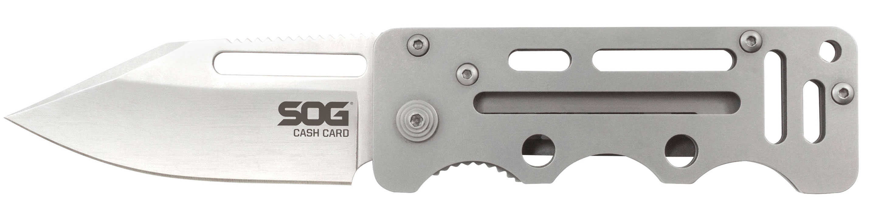 Buy SOG Cash Card and Ultra C-Ti at KnifeCenter