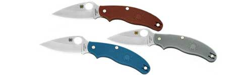 Spyderco UK Pen Knives Leaf Blades