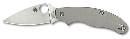 Spyderco UK Pen Knife with Titanium Handles