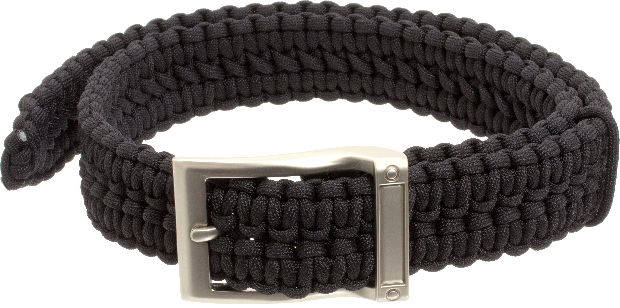 Timberline paracord survival belt black large 5103 for How to make a belt out of paracord