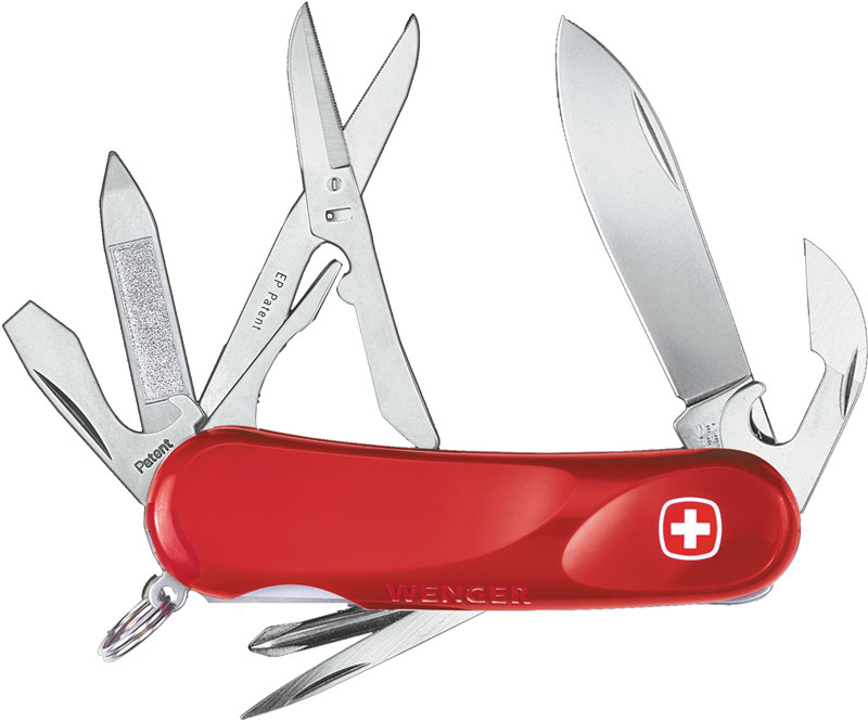 Wenger Swiss Army Evolution 16 Multi Tool 3 25 Quot Red