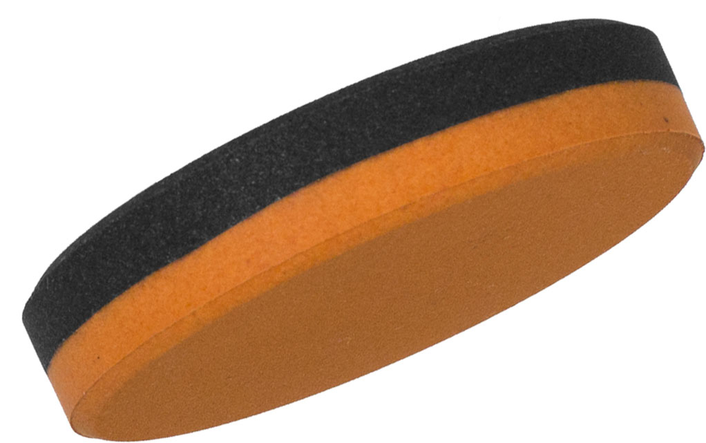 Woodman's Pal Puck Type Round Honing Stone 3 inch x 5/8 inch Double Sided