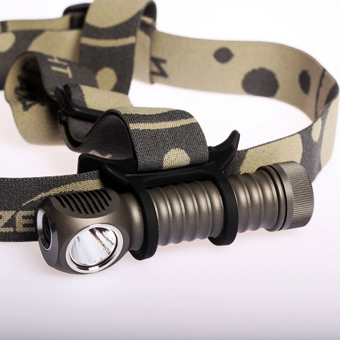 ZebraLight H600 Mk II 18650 Headlamp, XM-L2 Cool White LED ...