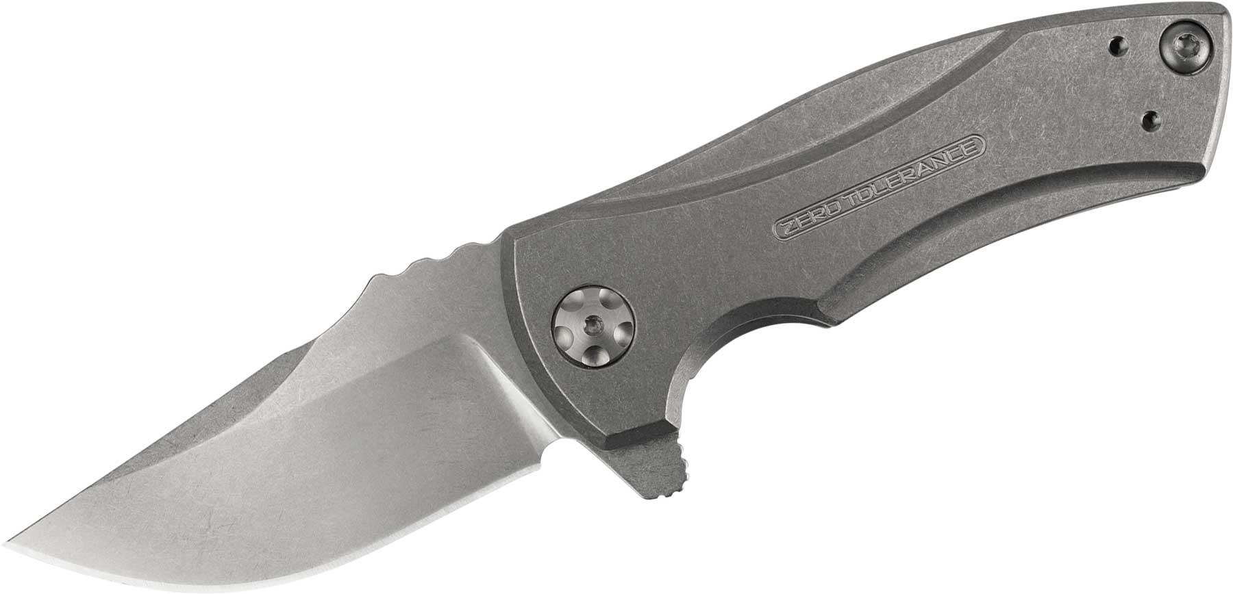 Buy Zero Tolerance 0900, 0909 and 0920 Flipper Opening Knives at KnifeCenter
