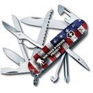 Victorinox Swiss Army Wounded Warrior Project Fieldmaster Multi-Tool, American Flag, 3.58 inch Closed