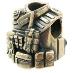 Bastinelli Creations Assault Bead, Bronze