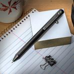 Brian Fellhoelter Custom TiBolt DLC Coated Titanium ReLeaded Mechanical Pencil, 5.5 inch Overall
