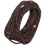 Live Fire Gear 550 FireCord Paracord, Thin Red Line, 25 Feet