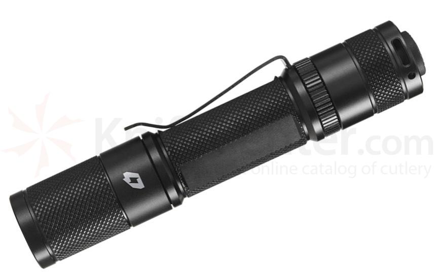FOURSEVENS Quark AA Tactical Gen 2, Cool White LED Flashlight, 132 Max Lumens