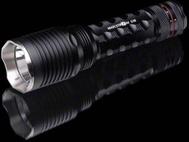 4Sevens Maelstrom S18 LED Flashlight, 1200 Max Lumens