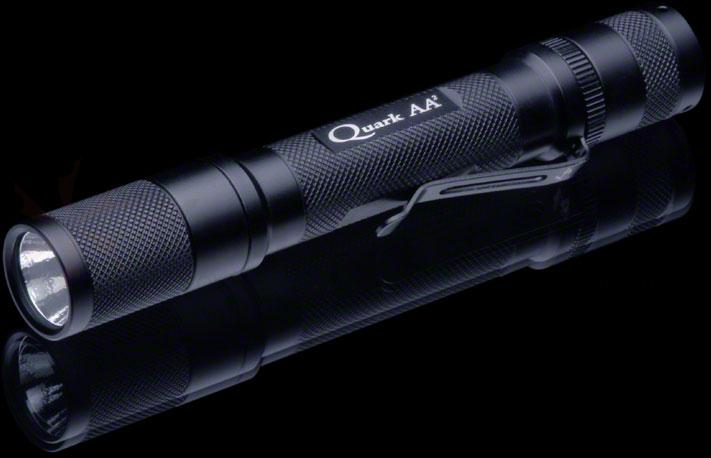 4Sevens Quark AA² Tactical, R5 Edition LED Flashlight, 205 Max Lumens