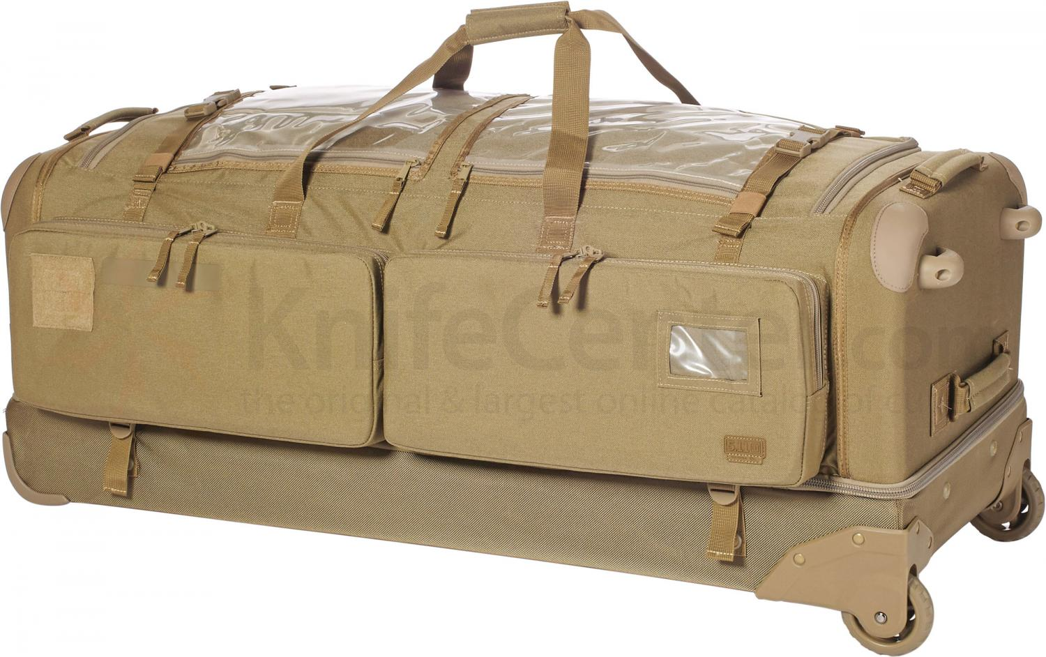5.11 Tactical CAMS 2.0 Large Tactical Rolling Duffel, Sandstone (50159-328) - KnifeCenter