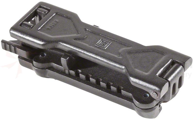 5.11 Tactical Belt Clip / Holster, Compatible with All 5.11 ATAC Flashlights (53144)