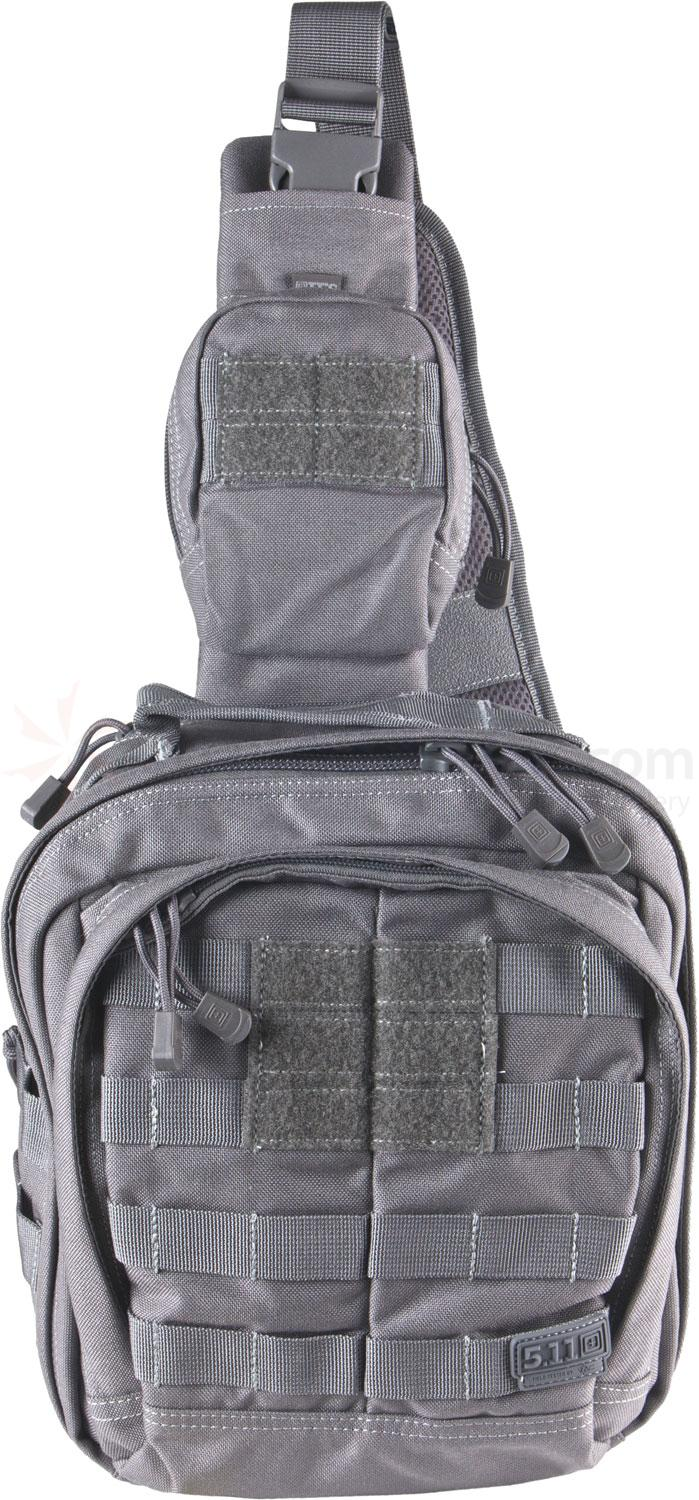 5.11 Tactical Rush MOAB 6 Sling Pack, Storm (56963-092)