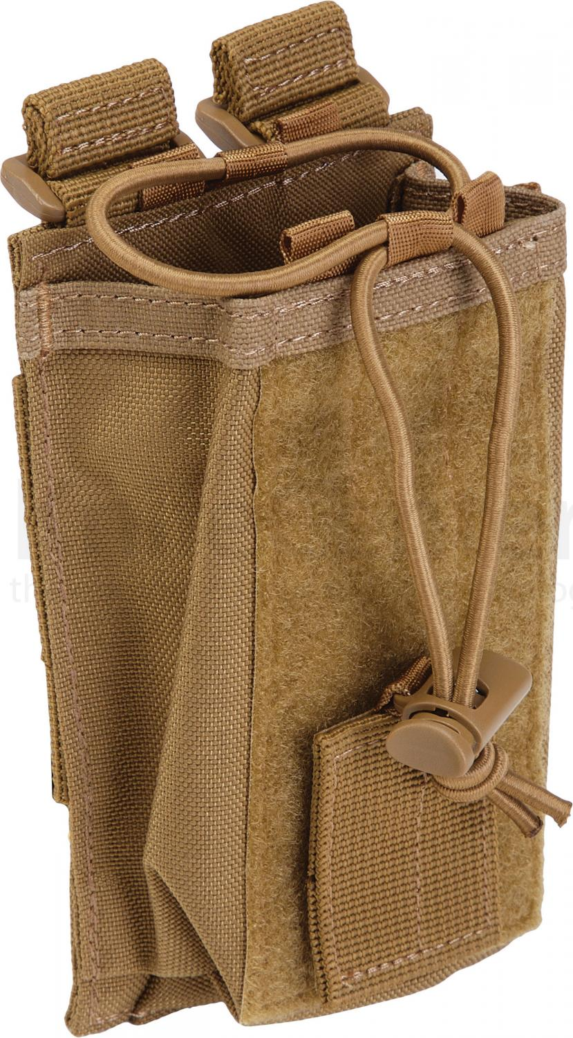 5.11 Tactical Radio Pouch, Flat Dark Earth (58718-131)
