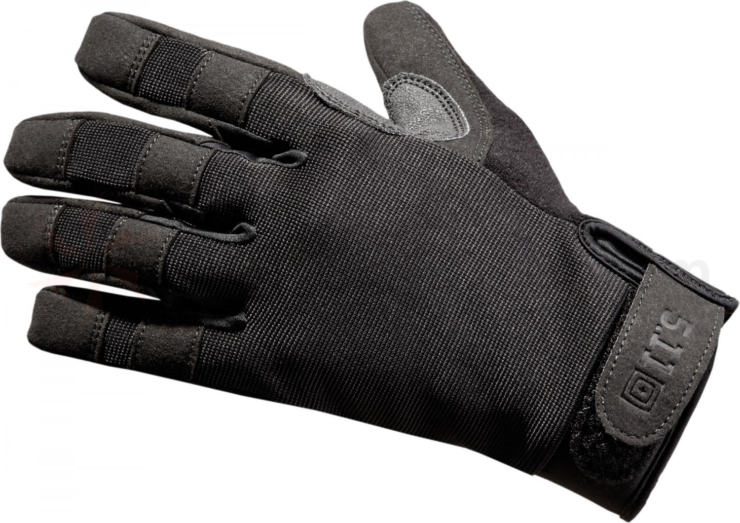 Black tactical gloves - 5 11 Tactical Tac A2 Gloves Black Small 59340