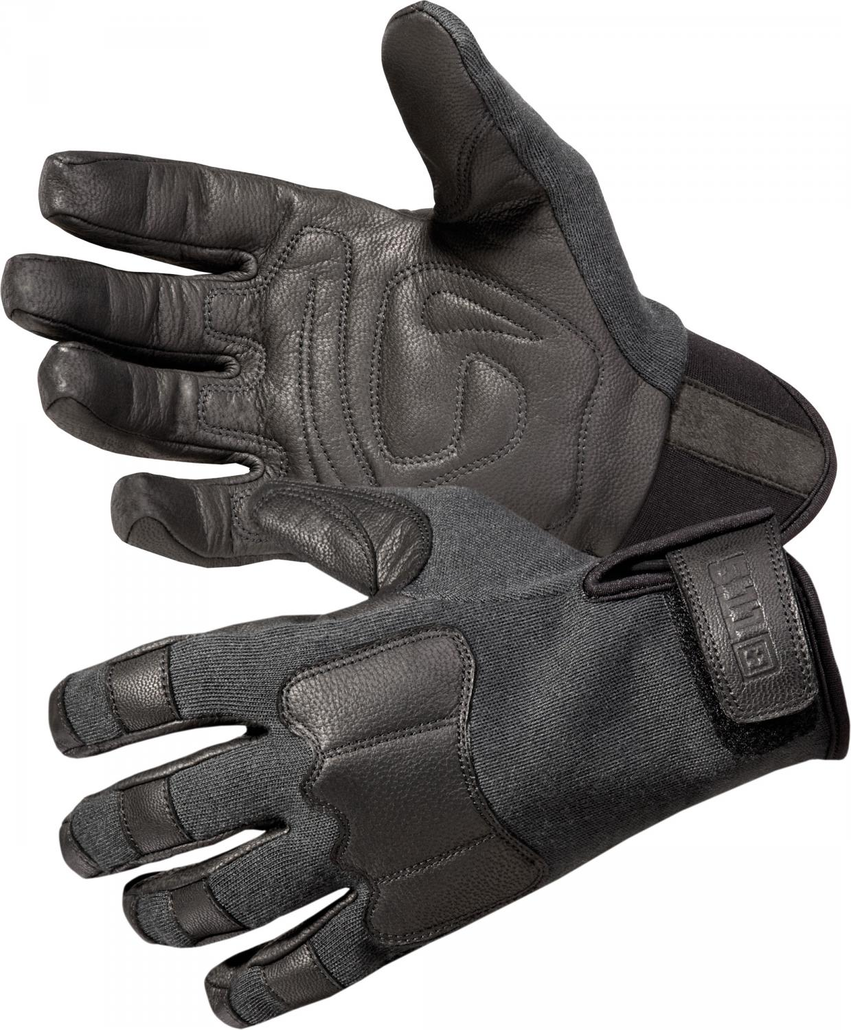 5.11 Tactical TAC AK2 Gloves, Black, Large (59341)