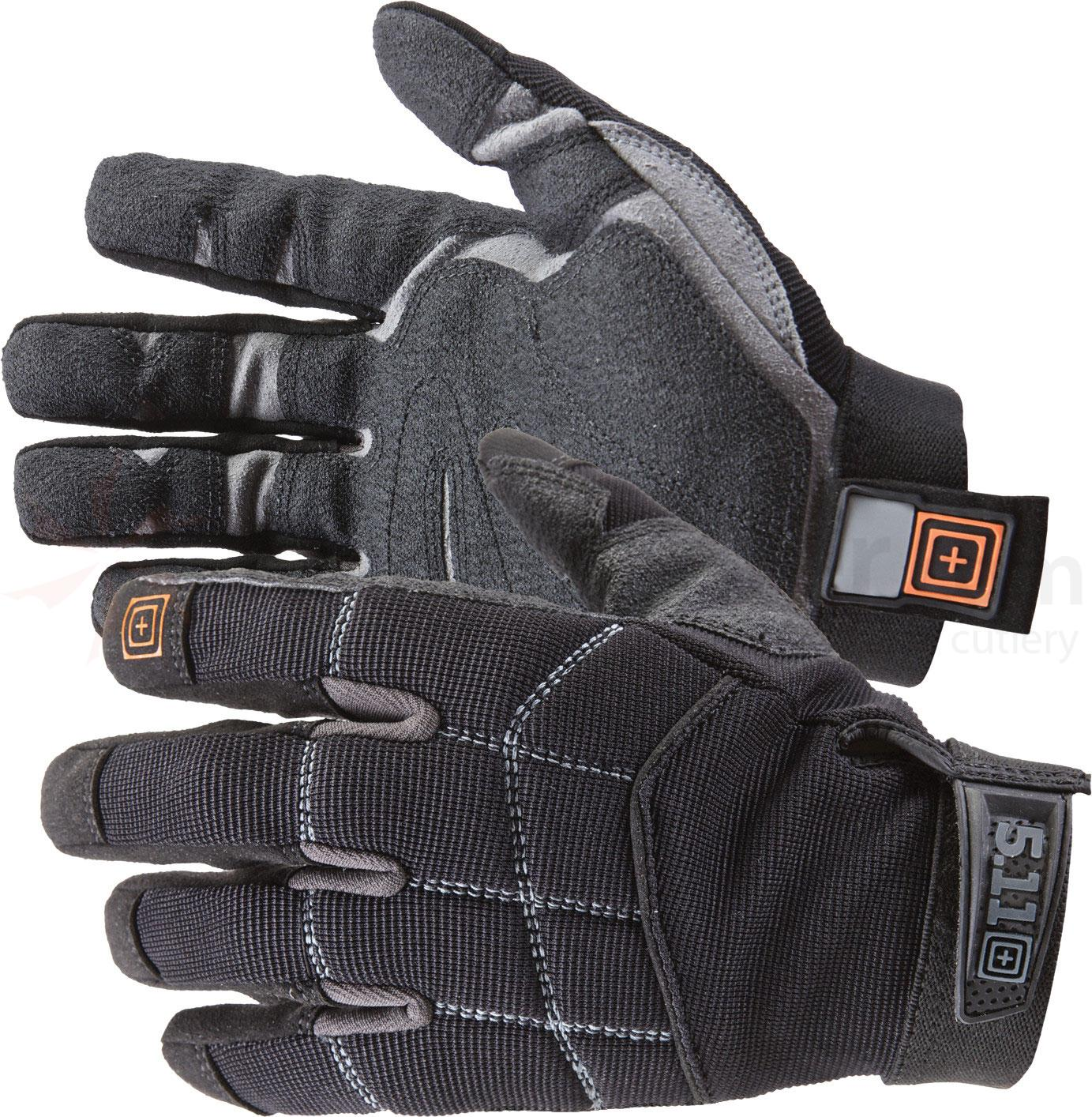 5.11 Tactical Station Grip Multi-Task Gloves, Black, Medium (59351)