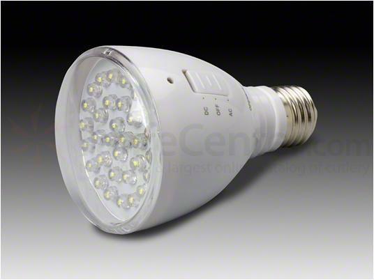 AE Light EmergiBulb LED Emergency Light Bulb, 6000K, Clear Lens