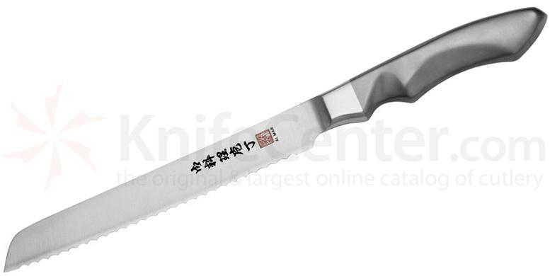 Al Mar SCB Stainless Ultra-Chef Bread Knife 8 inch VG10 Damascus Blade