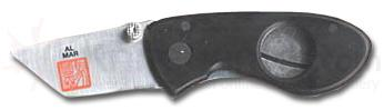 Al Mar Havana Clipper Cigar Knife Black Micarta Handle