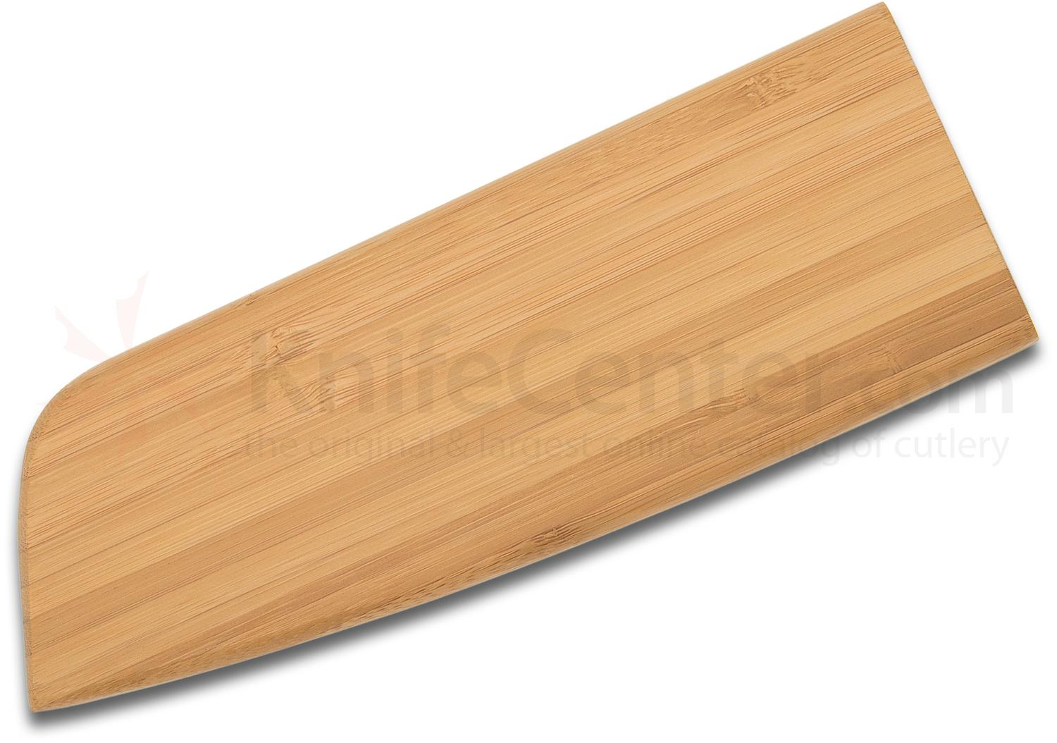 Apogee Culinary Designs Magnetic Bamboo Sheath Fits Most 7.5 inch Santoku Knives