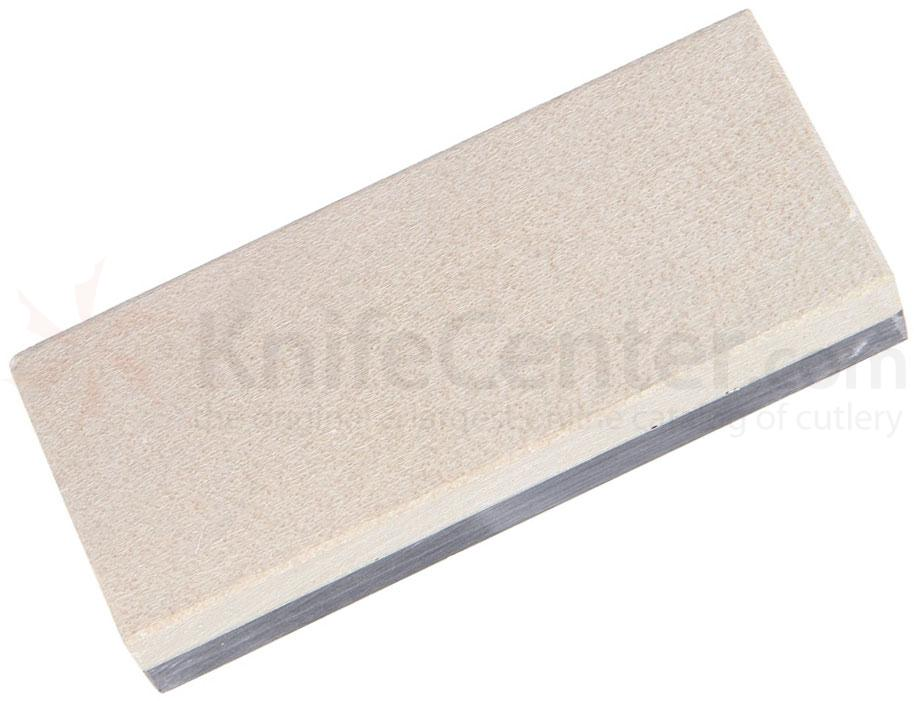 Ardennes Coticule Two Layer Whetstone, Small 4 inch x 1.5 inch x 0.75 inch