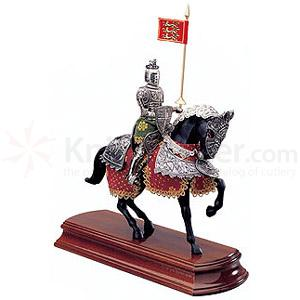 Armaduras Valiant Knight Miniature On Horseback